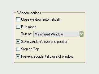 Umfangreiche Erweiterung f�r den Umgang mit Anwendungsfenstern.
