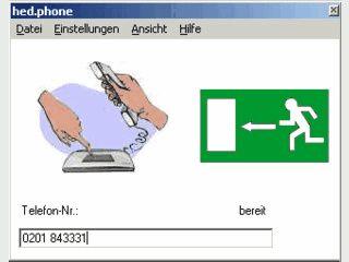 Wählhilfe für Windows die per Kommandozeile gesteuert werden kann.