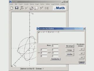 Analytische Geometrie in der Oberstufe - Programm für die Klassen 12/13
