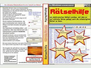 Rätsellexikon mit über 600.000 Wörtern und verschiedenen Suchmöglichkeiten.