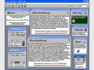 Virtuelle Pinnwand zur Verwaltung von persönlichen Notizen.
