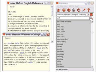 Wörterbuch-Software mit frei verfügbaren Wörterbüchern. Auch für Symbian OS.