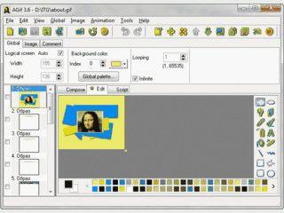 Software zum komfortablen Erstellen von animierten GIF-Dateien.