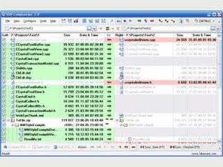 Software zum Vergleich und zur Synchronisation von Verzeichnissen.