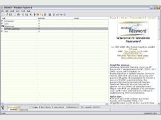 Prüft die Sicherheit von Passwörtern auf Windows NT/2000/2003/XP Systemen.