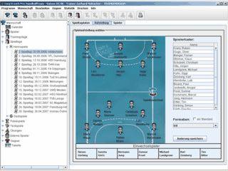Trainersoftware rund um den Handball für Training, Spiel und Organisation.