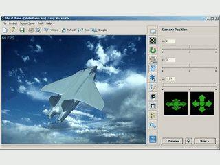 Einfachste Erstellung eigener Bildschirmschoner mit 3D Elementen