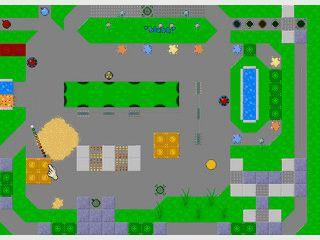 Einfaches Minigolf Spiel mit zahlreichen Spezialobjekten.