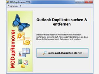 Doppelt oder mehrfach vorhandene E-Mails in MS Outlook suchen und entfernen