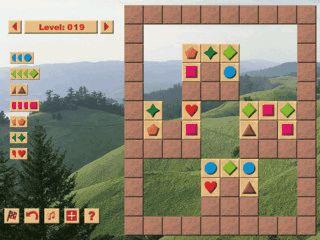 Ein fesselndes Denkspiel mit 150 verschiedenen Rätseln.