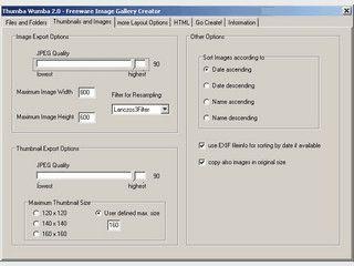 Software um eine HTML-Fotogallerie zu erstellen.