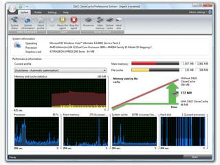 Tool zur Optimierung des File-Cache-Managements.