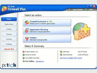 Gute Firewall die Ihren Computer schützt.