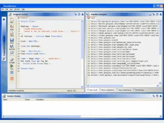 Programmierbares Web-Suchwerkzeug mit eigener Scriptsprache.