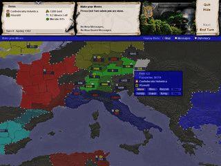 Runden-basiertes Multiplayer Strategie Spiel
