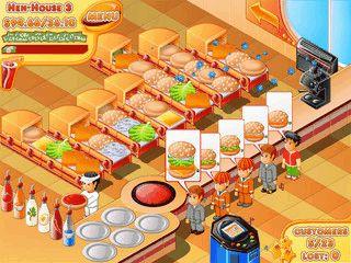 In Stand OFood bereiten Sie Burger nach den Wünschen Ihrer Kunden zu.