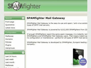 Benutzerfreundliche Anti-Spam-Lösung für SMTP-Server.