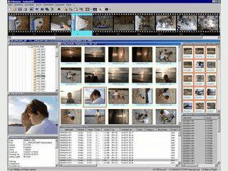 Verwaltung für digitale Bilder mit Funktionen zur Erstellung von Präsentationen.