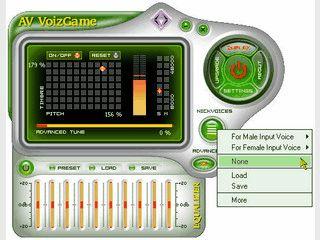 Passen Sie Ihre Stimme in VoiceChats an den Charakter Ihrer Spielfigur an.