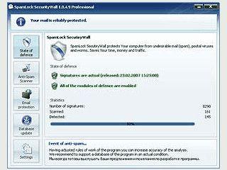 Schutz gegen Spam, Junkmail und gefährlichen Datei-Anhängen.