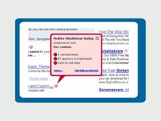 Sicherer Surfen mit Firefox. Schutz vor Webseiten mit gefährlichen Inhalten.
