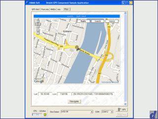 GPS Schnittstelle für eigene Delphi Anwendungen. Interessante Beispielanwendung