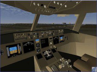 Kostenlose Flugsimulation mit sehr detailierten Daten.