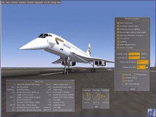 Technisch sehr gute Open-Source Flugsimulation mit realistischen Bedingungen.