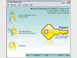 Passwort von einer verschlüsselten Word Datei hacken