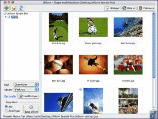 jAlbum erlaubt die einfache Erstellung von Web-Gallerien mit Ihren Bildern.
