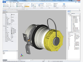 Editor für CAD-Dateien und typische Bildformate.