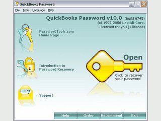 Setzt das Passwort von QuickBooks Dateien QBW und QBA zurück.
