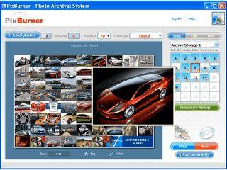 Einfachste Archivierung von Digitalbildern auf CD/DVD mit Index-Print.