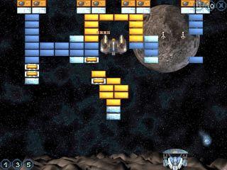 Ein Arkanoid Ballerspiel mit 90 Levels und schöner Grafik.