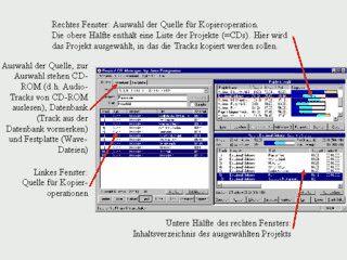 Sehr gute Lösung um Audio CDs aus MP3s oder vorhandenen CDs zu erstellen.