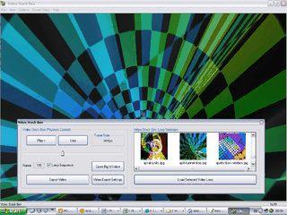 Sammlung mit Video-Loops für die Verarbeitung mit Videoschnitt.
