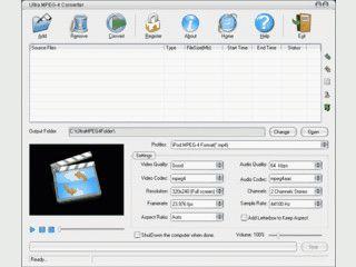 Konvertiert Videos in Formate für mobile Videoplayer wie iPod, iRiver, Zune usw.