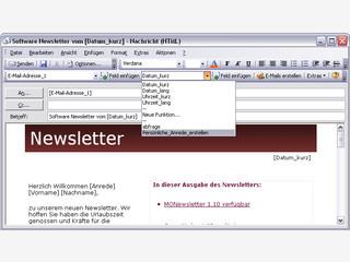 Add-In für MS Outlook um Newsletter und Serien-Mails zu erstellen.