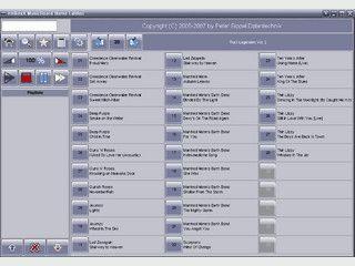 Jukebox die auf die Bedienung via Touchscreen optimiert ist.