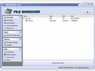 Sicheres Löschen von Dateien zum Schutz vor Wiederherstellung.