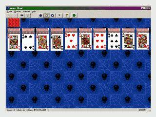 Sammlung mit 16 Kartenspielen im Solitaire Stil.