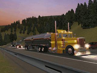 Als Truckfahrer bringen Sie verschiedene Waren, termingerecht von A nach B