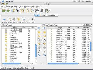 FTP Client mit vielen Automatisierungsoptionen.