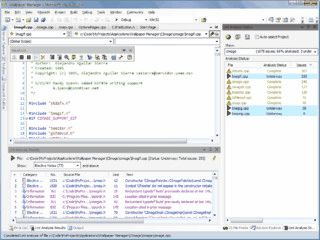 Visual Lint integriert Gimpel PC-Lint in die Visual Studio Entwicklungsumgebung.