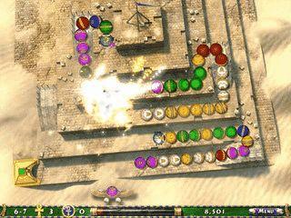 Der Nachfolger des Puzzlespiels Luxor.