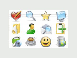 Eine Sammlung mit Icons zu verschiedensten Themen.