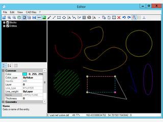 API zur Nutzung von AutoCAD DXF in C#, VB.NET, Delphi.NET