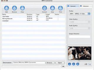 Audio und Video-Dateien für iPod, PSP, Apple TV, Archos usw. umwandeln.