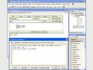 Komponenten für den Zugriff auf MS SQL Datenbanken.