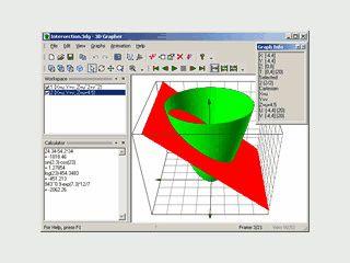 Software zur Erstellung von Diagrammen und 2D und 3D.